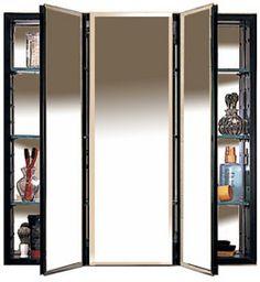 Robern 30-1/4'' W Three Door Medicine Cabinets #kitchensource #pinterest #followerfind