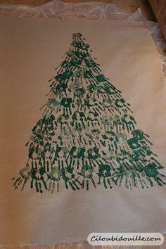 Ciloubidouille » Fabriquer un sapin de Noël avec des enfants