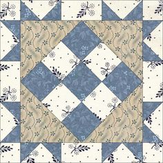 June 13 Eagle's Nest. Today's block is from Judy Hopkins. Enjoy