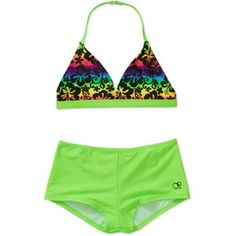 Op Girls' 2 Piece Bikini swim set. High waisted bikini for tweens and younger girls. Right now it's on roll back for $6.00! :)