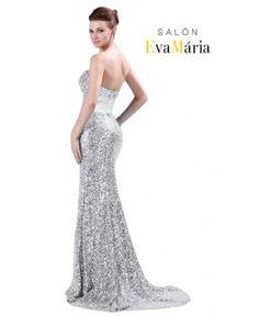 070f745ce03b Dlhé spoločenské šaty na objednávku - Salonevamaria.sk
