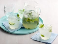 Mojito Limeade - Replace the rum with Sprite for a non-alcoholic version. Omit club soda.