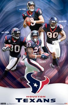 Houston Texans Collage