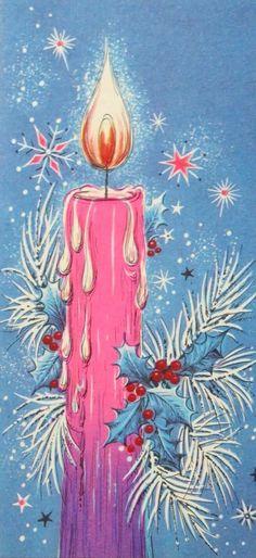 Christmas Tree Scent, Christmas Scenes, Christmas Candles, Christmas Love, Retro Christmas, Christmas Wishes, Christmas Pictures, Christmas Labels, Vintage Christmas Cards