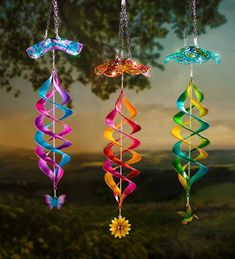 Best 12 Add mesmerizing motion, color and light with our hanging Solar Swirl Helix Spinner. Each beautifully colored helix spinner is accented with a seasonal charm…hang in the sun to enjoy mesmerizing motion by day and light by night. Plastic Bottle Crafts, Diy Bottle, Plastic Bottles, Diwali Lantern, Solar Light Crafts, Solar Lights, Weathered Paint, Diy And Crafts, Paper Crafts