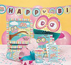 Your birthday celebrations are sure to be a hoot with the You're A Hoot Party Supplies from Its All About Kids. Range includes owl themed tableware, owl themed decorations, owl themed party bags and much, much more!