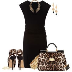 """Animal Print Love Contest"" by kginger on Polyvore"