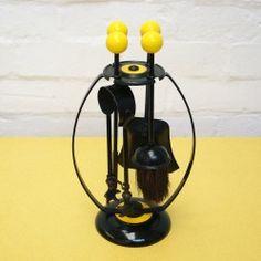 Midcentury atomic fireside companion set vintageactually.co.uk