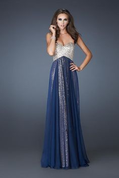 The Catherine Evening Gown, Strapless Allover Silver Sequined Prom Dress, Sweetheart Bridesmaids Dress, FREE SHIPPING. $165.00, via Etsy.
