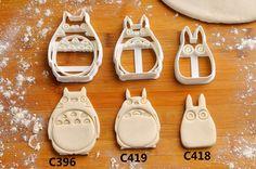 Totoro Cookie Cutters