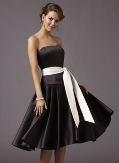 Bridesmaid Dress-black$49.99