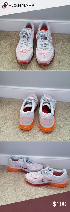 Nike Air Max 2014 These have been worn a few times overall they are in excellent condition😊 Nike Shoes Sneakers