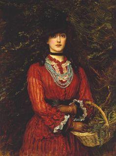 """John Everett Millais """"Miss Eveleen Tennant"""", 1874"""