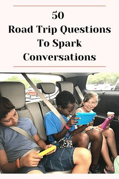 Road trips are really all about the journey, right? Make your journey a little more interesting with these 50 fun road trip questions! Road Trip Packing List, Road Trip Map, Road Trip Destinations, Road Trip Hacks, Road Trip With Kids, Family Road Trips, Travel With Kids, Family Travel, Disney Questions
