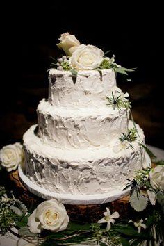 Casual Wedding Cake
