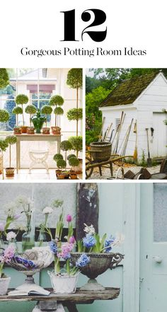 Potting Rooms Are So In This Spring #purewow #family #home