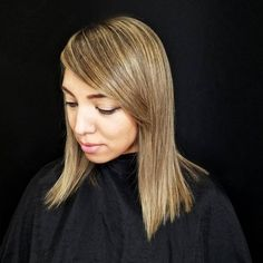 53 Medium Hairstyles With Bangs: Our Latest Faves 2019 - Hair Styles Hipster Hairstyles, Cute Girls Hairstyles, Hairstyles With Bangs, Pretty Hairstyles, Straight Hairstyles, Black Hairstyles, Hairstyle Ideas, Hairstyles 2018, Medium Black Hair