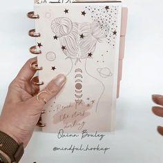 Quinn Bouley (@mindful_hookup) • Фото и видео в Instagram Day Book, Bullet Journal Spread, Happy Planner, Journal Ideas, Mindful, Bujo, Drawings, Planners, Journaling