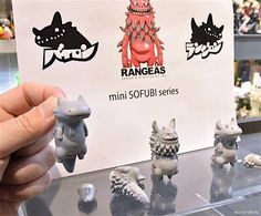 TOYSREVIL: Introducing ARTIST mini SOFUBI SERIES from INSTINCTOY with T9G × INSTINCTOY × Shoko Nakazawa Prototypes at Wonder Festival 2017 Winter