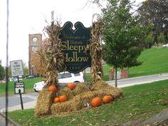 Entering the beautiful and quaint village of Sleepy Hollow, near Tarrytown, NY