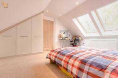 gable attic ideas | pratical storage solutions individual design feature elements elipse ...