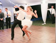 Third dress. #wedding #reception #afterparty   10 Hot New Wedding Trends for 2015!   TheKnot.com