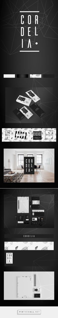 Cordelia Interior Design Branding by Su Korkmaz | Fivestar Branding Agency – Design and Branding Agency & Curated Inspiration Gallery