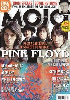 MOJO Magazine(UK)- March 2013 - Pink Floyd cover