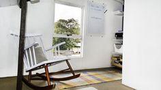 Tu Organizas.: Quadro de anotações e reforma da cadeira de balanç...