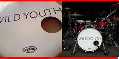 Drum Heads, Bass Drum, Drums, Music Instruments, Printed, Percussion, Musical Instruments, Drum, Prints