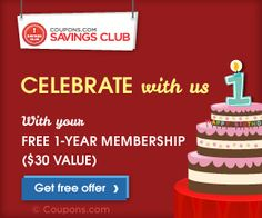 Coupons.Com is Celebrating Their Birthday & they want to give you a gift!!!