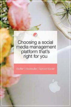 Choosing a Social Media Management Platform