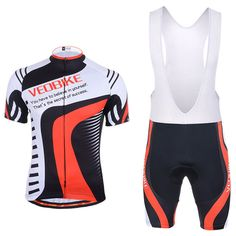 VEOBIKE Hommes Cyclisme Vê manches Courtes Jersey Gel Pad Bib Respirant Sport Vêtements VTT Vélo De Route Vé Cycling Outfit, Cycling Clothing, Cycling Jerseys, Women's Cycling, Athletic Fashion, Sport Outfits, Jackets, Road Bike, Shirts