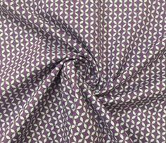 Playful pinwheels violet Panini Tessuti