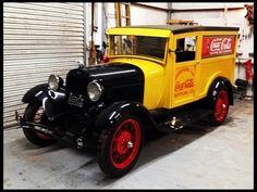 1928 Ford Model A Coca-Cola Truck...