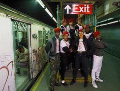 1986 – Guardian Angels in NYC Subway Station ( © Thomas Hoepker ...