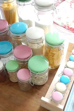 Jamie Oliver glass canisters.