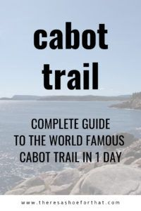 The perfect one day itinerary of the world famous Cabot Trail in Cape Breton Nova Scotia. Follw this route to experience the best food and the best views. Cabot Trail, East Coast Travel, East Coast Road Trip, Visit Canada, Canada Trip, Nova Scotia Travel, New Brunswick, Atlantic Canada, Travel