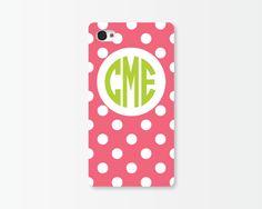 Emily Ley Dot iPhone Case - Fuchsia-