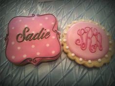 Monogram Cookie Set