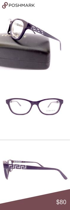 3b7e5bd2ed9 100% Authentic Versace Deep Purple Eyeglasses! Brand NWOT Deep Purple Full  Frame Versace Glasses