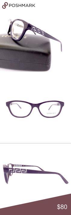 1fa044c58e 100% Authentic Versace Deep Purple Eyeglasses! Brand NWOT Deep Purple Full  Frame Versace Glasses