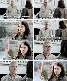 Maggie & Reg - The Walking Dead season 5, episode 16