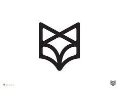 Fox Line by George Bokhua #Design Popular #Dribbble #shots