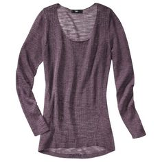 Mossimo® Women's Tunic Pullover Sweater - Assorted Colors $24.99