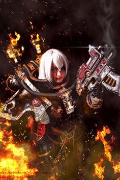 40k - Acts of Faith (Battle Sister) by Dezelith on deviantART