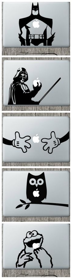 Laptop vinyl decals! Great stocking stuffer - which is your favorite?