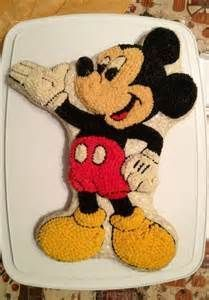 Best Wilton Mickey Mouse Cake Pan Recipe On Pinterest