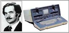 #TBT to #AdamOsborne who made the first #laptop! #Technology #Genius #innovation #invention #progress
