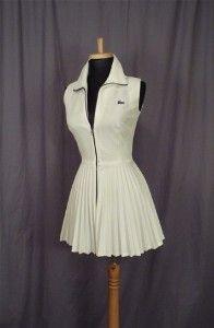 1970's Lacoste Tennis Dress   Shop fashion, apparel  Kaboodle